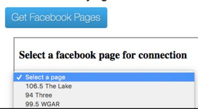Get Facebook Pages