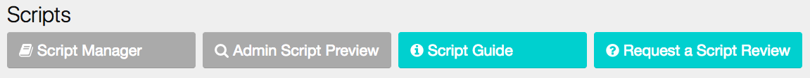 On your admin panel under Scripts, find the option forAdmin Script Preview.