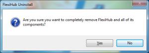 FlexiHub uninstallation