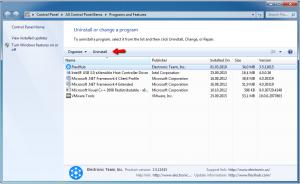 FlexiHub for Windows uninstallation