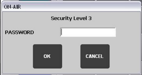 image of password entry