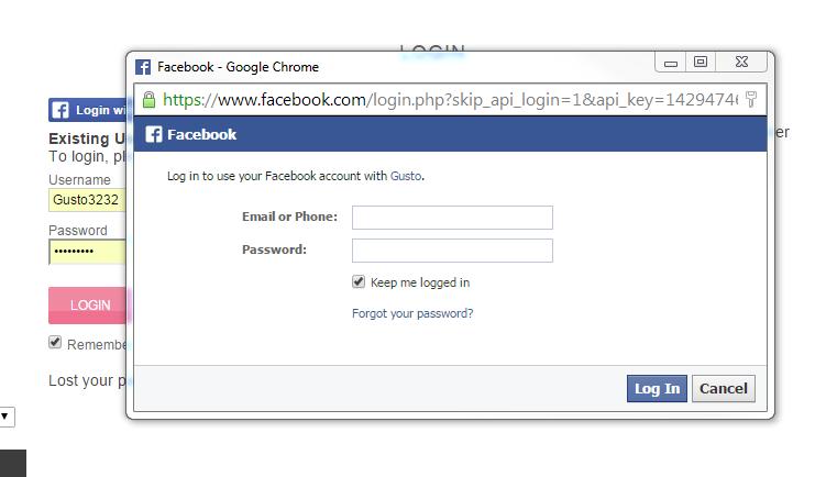 Facebook App Screenshot 10
