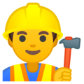 Construction Worker on Google Android 9.0