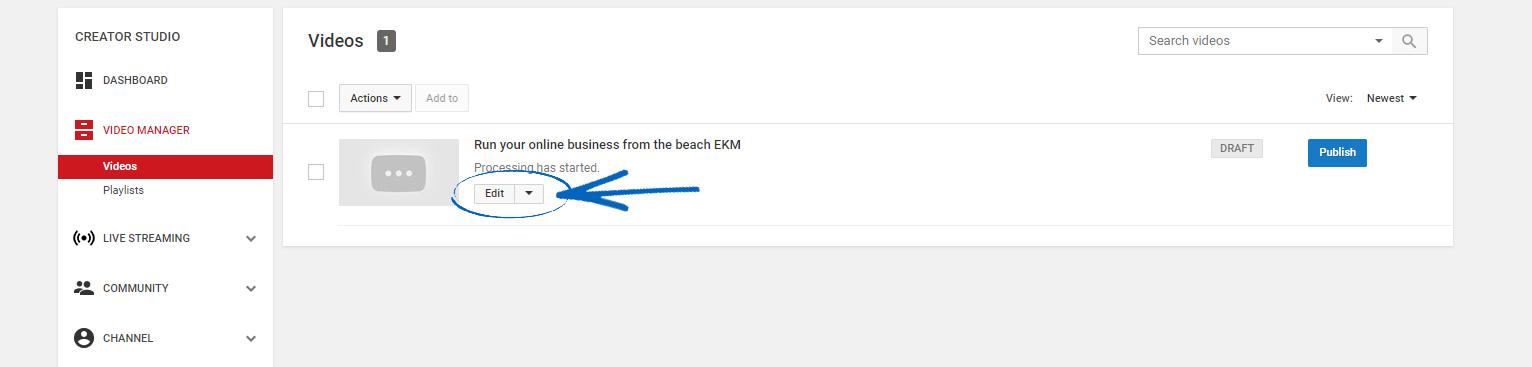 Social Plugins - YouTube : EKM