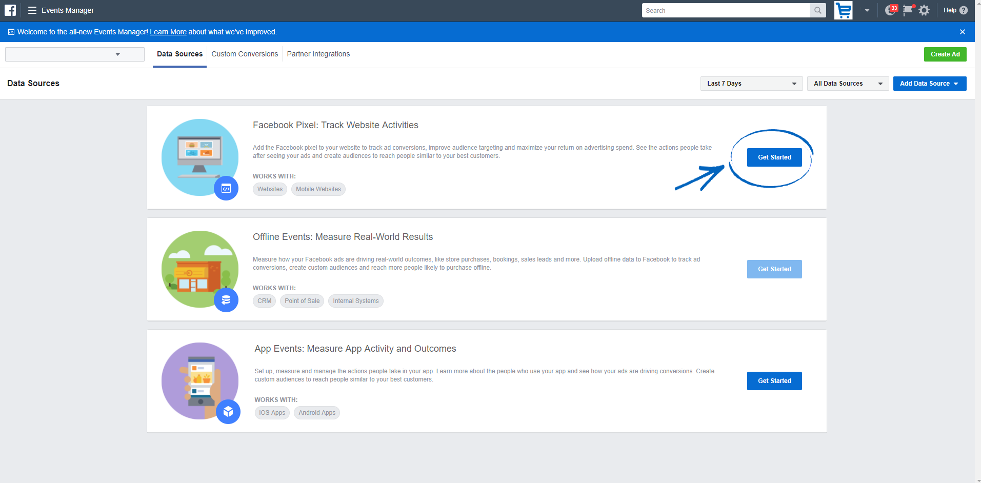How to add Facebook Pixel to your EKM online shop : EKM
