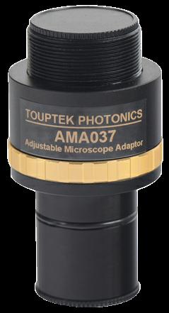 Adjustable eyepiece adapter