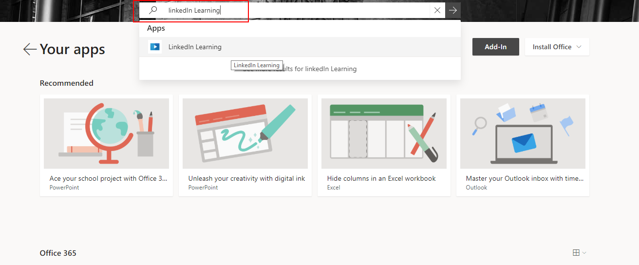 LinkedIn Learning : Office of Information Services