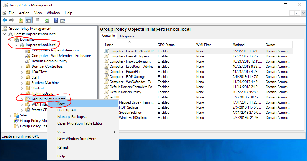 How to Deploy Impero through Group Policy to Windows Devices