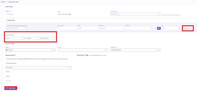 Create orders detailed-1