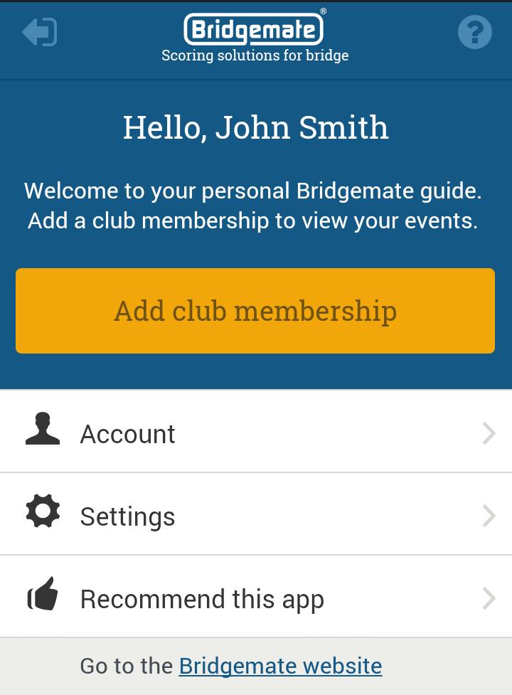 No memberships registered