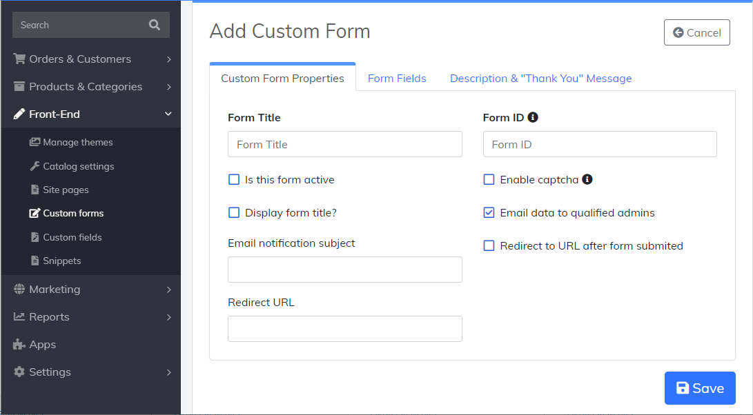 adding-a-custom-form