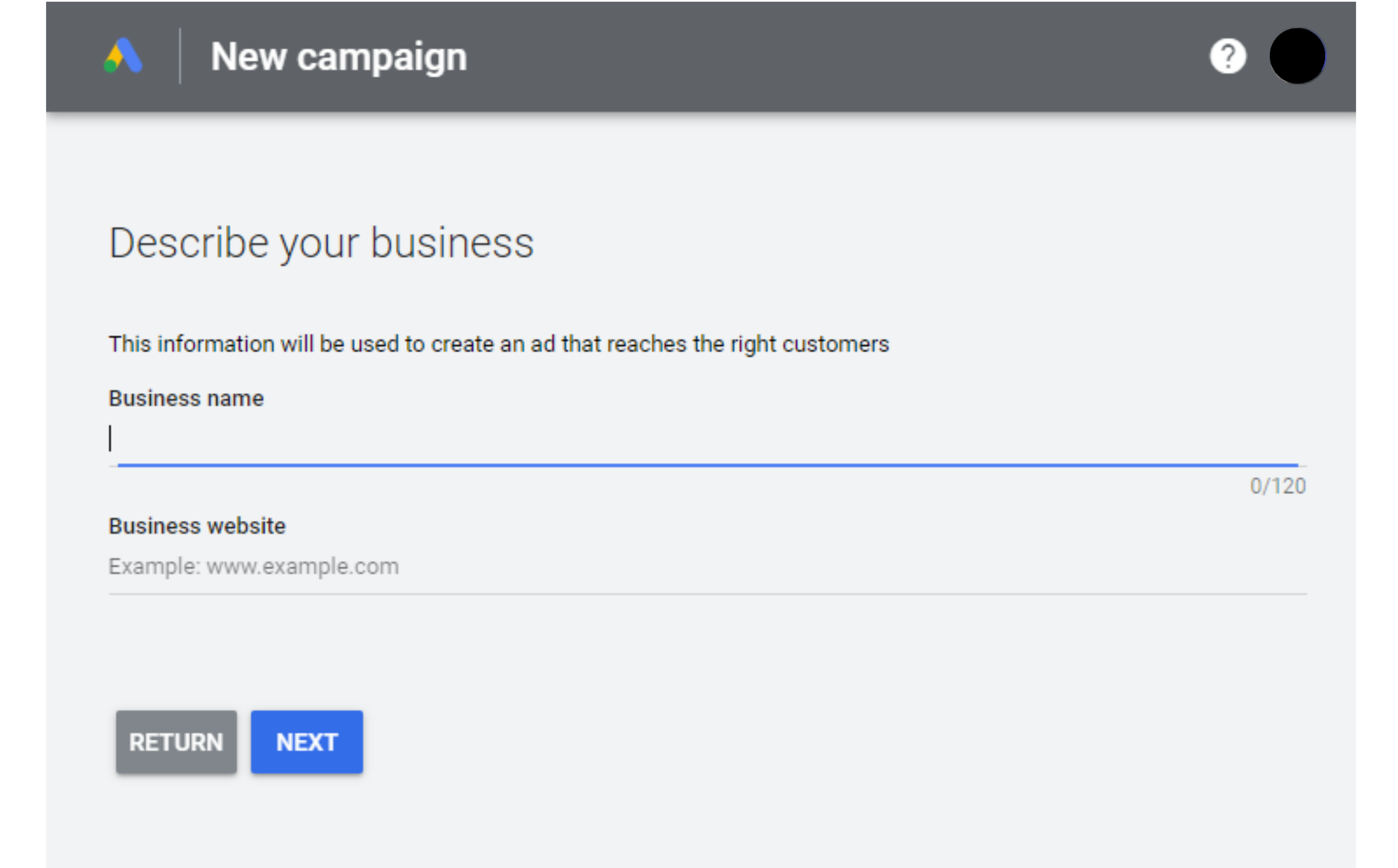 sign up google adwords