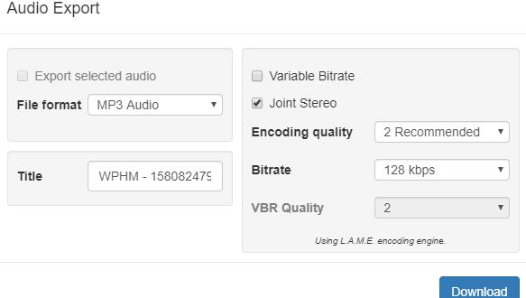 Audio Editing Tool - Download