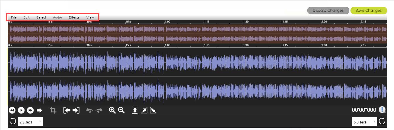 Audio File Wave