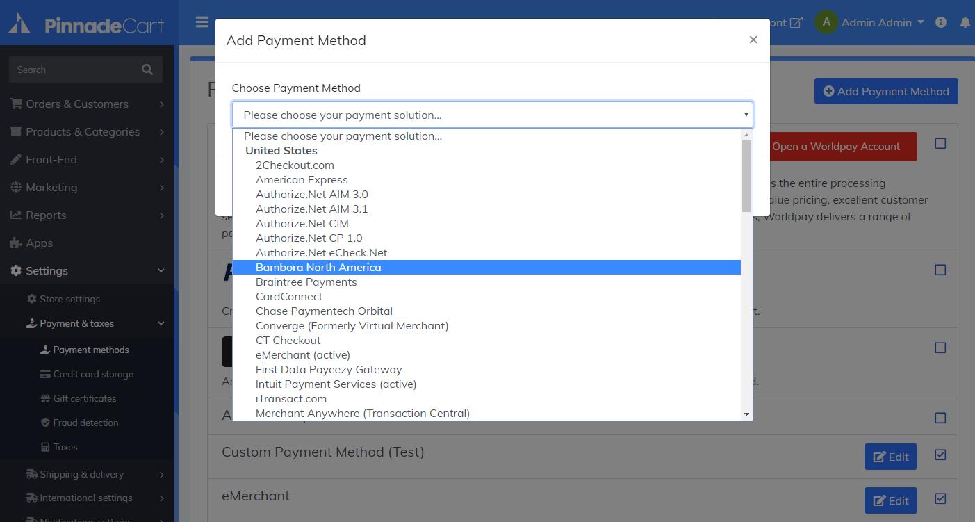 activate-bambora-payment-gateway