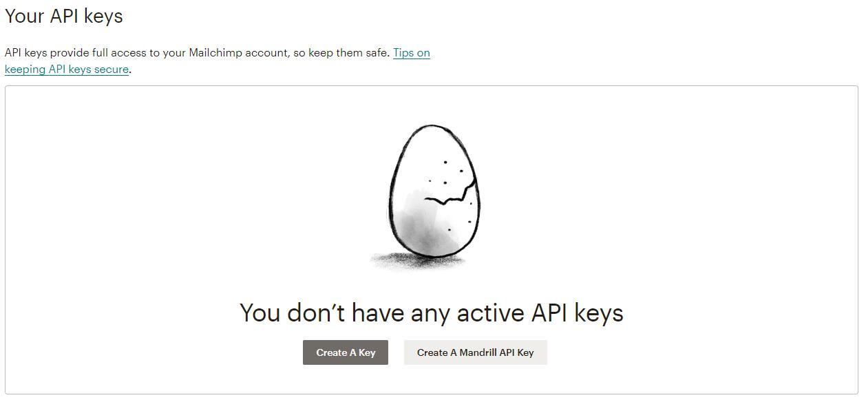 create-keys-mailchimp