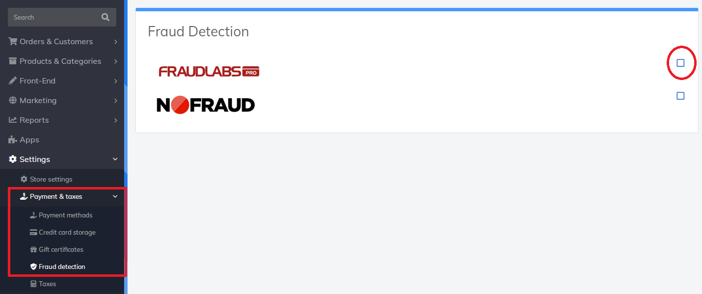 activate fraudlabs pro