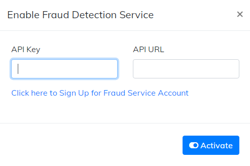 fraudlabs pro API key and URL