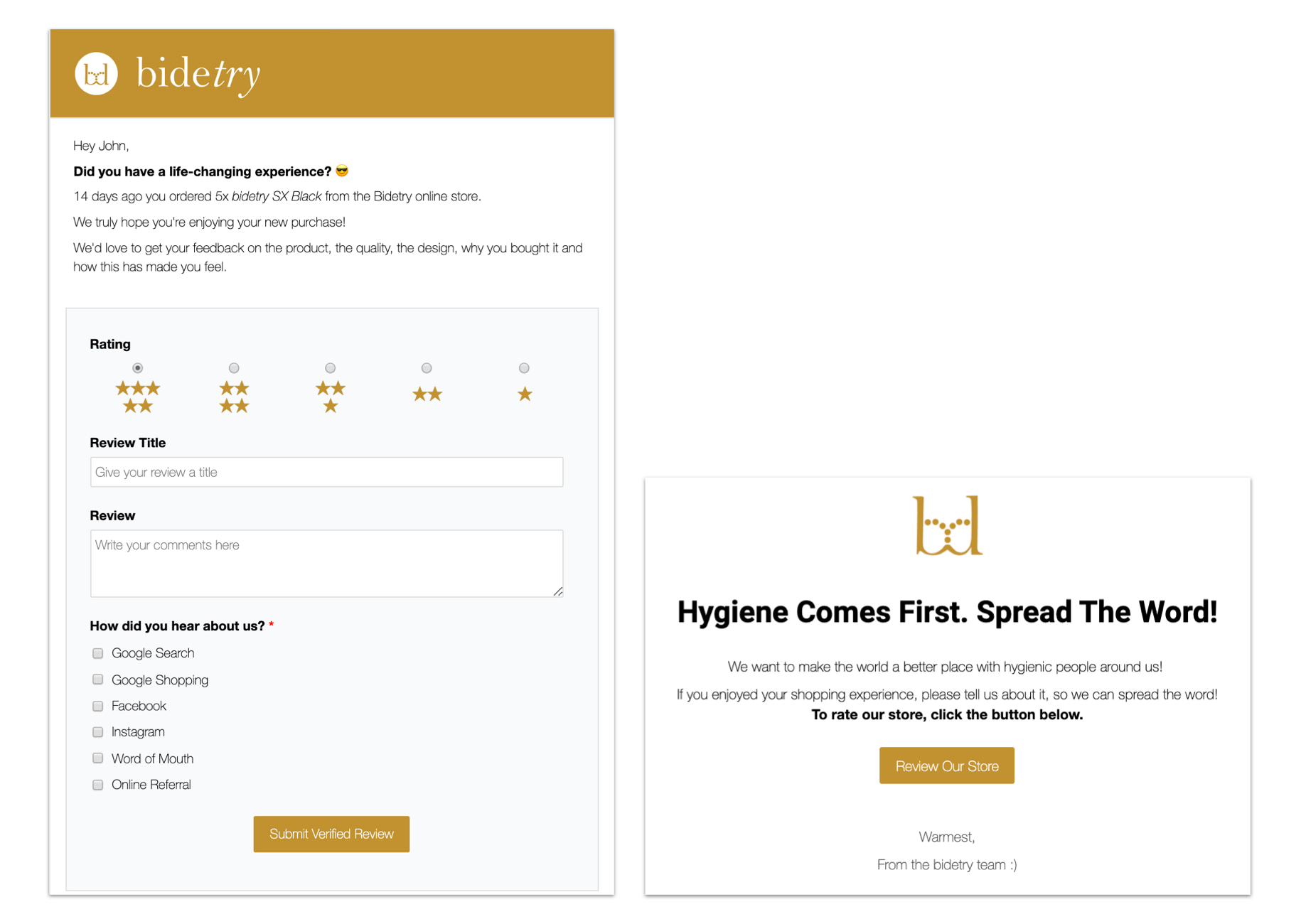 judge.me email templates tips