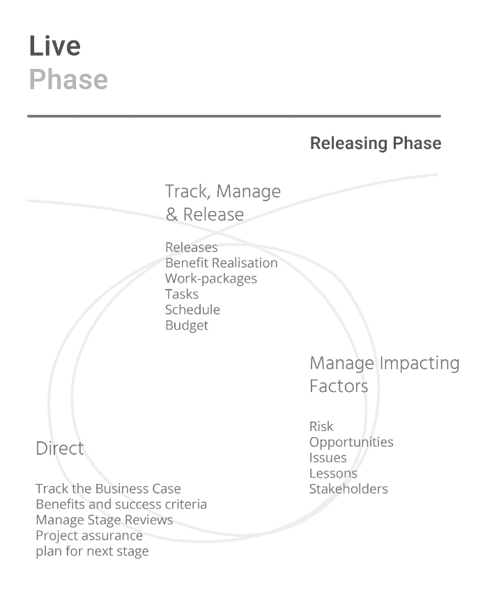 Diagram of the Live Phase