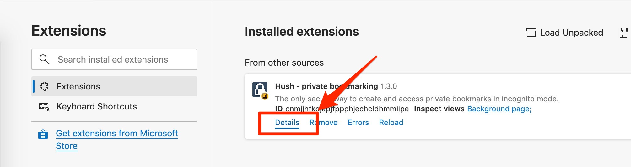 hush_extensions_page