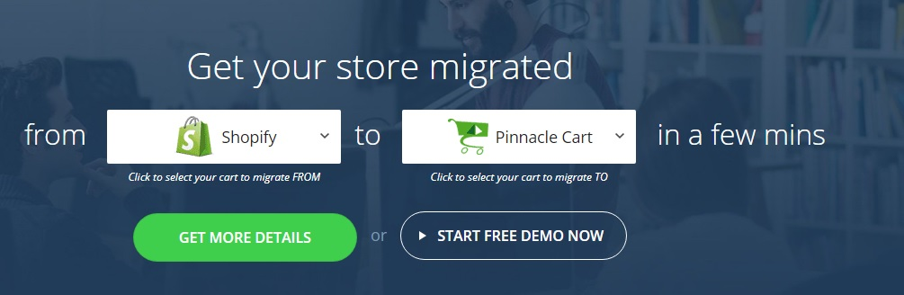 migrate store from shopify to pinnaclecart