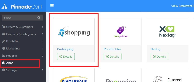 goshopping app