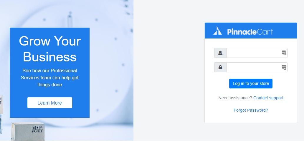 3.9.0 login page