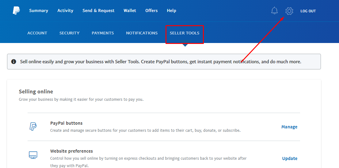 paypal seller tools