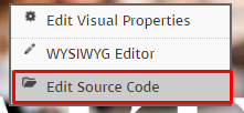 edit source code