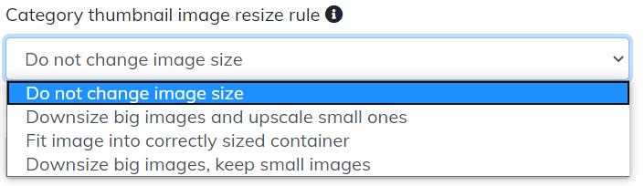 category thumbnail image resize rule