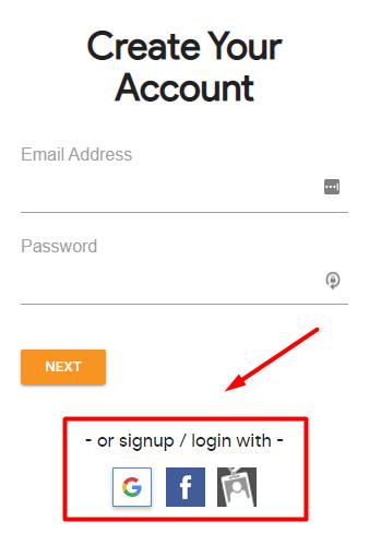 create simplebooklet account
