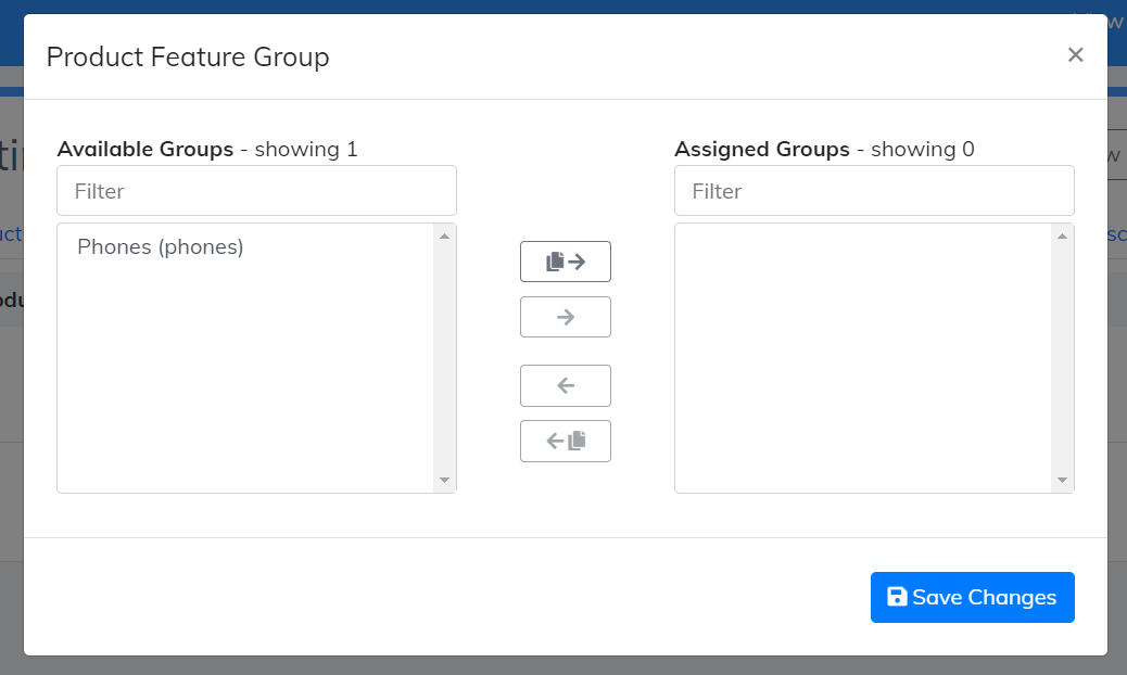 product feature group
