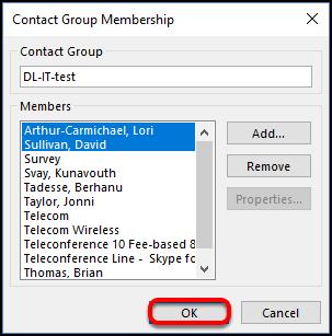 group membership save