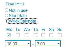 Time Limit — Overnight Time Limit