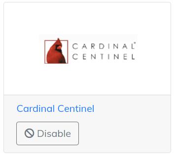 cardinal centinel app
