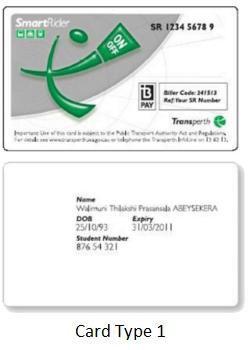 Card Type 1