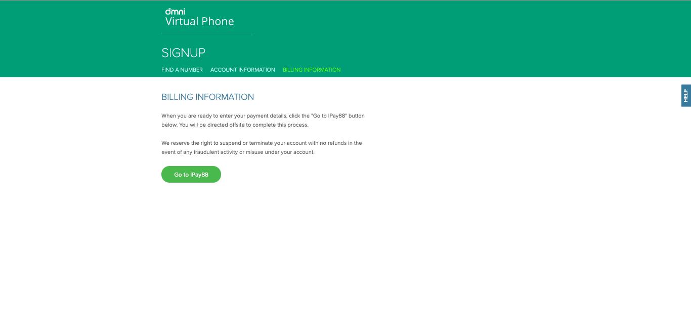 Omni Hotline Sign Up