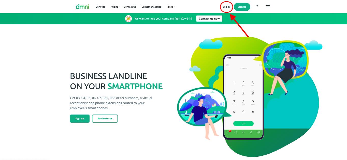 Omni Hotline Log In Page