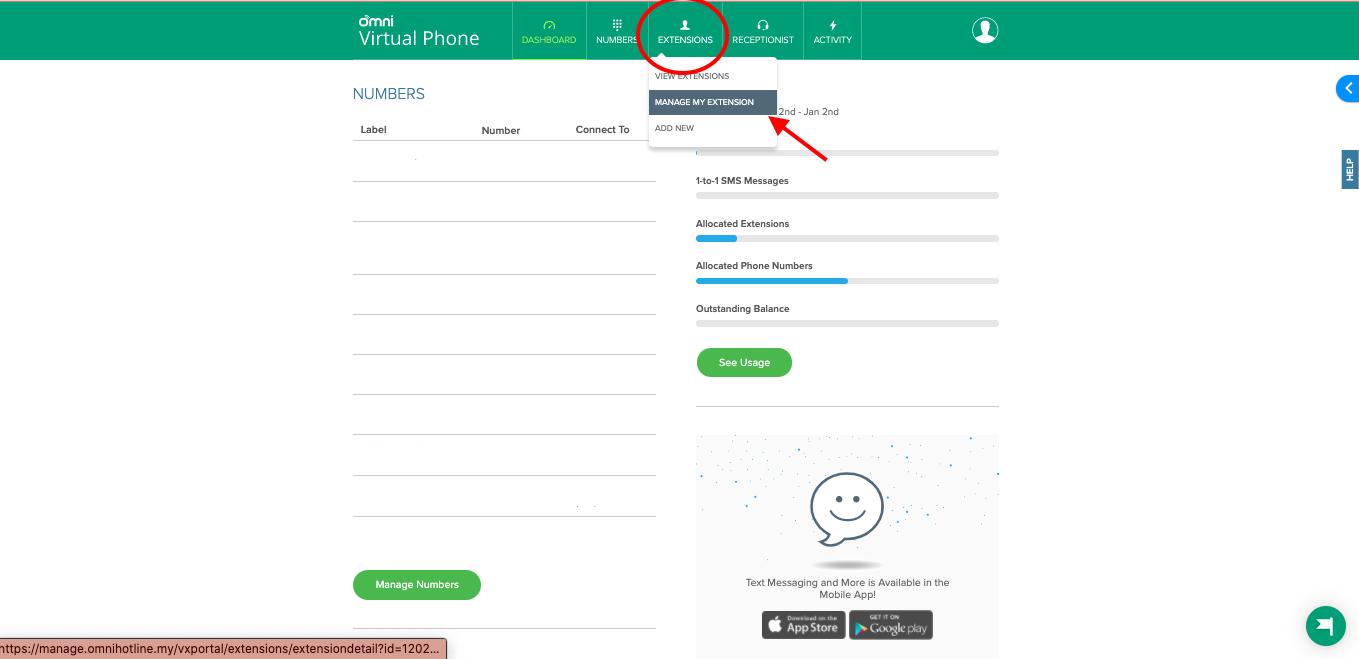 Omni Hotline Extensions