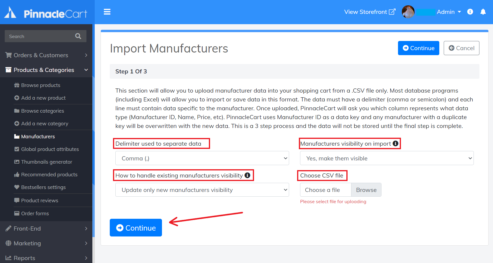 import-manufacturers-step1