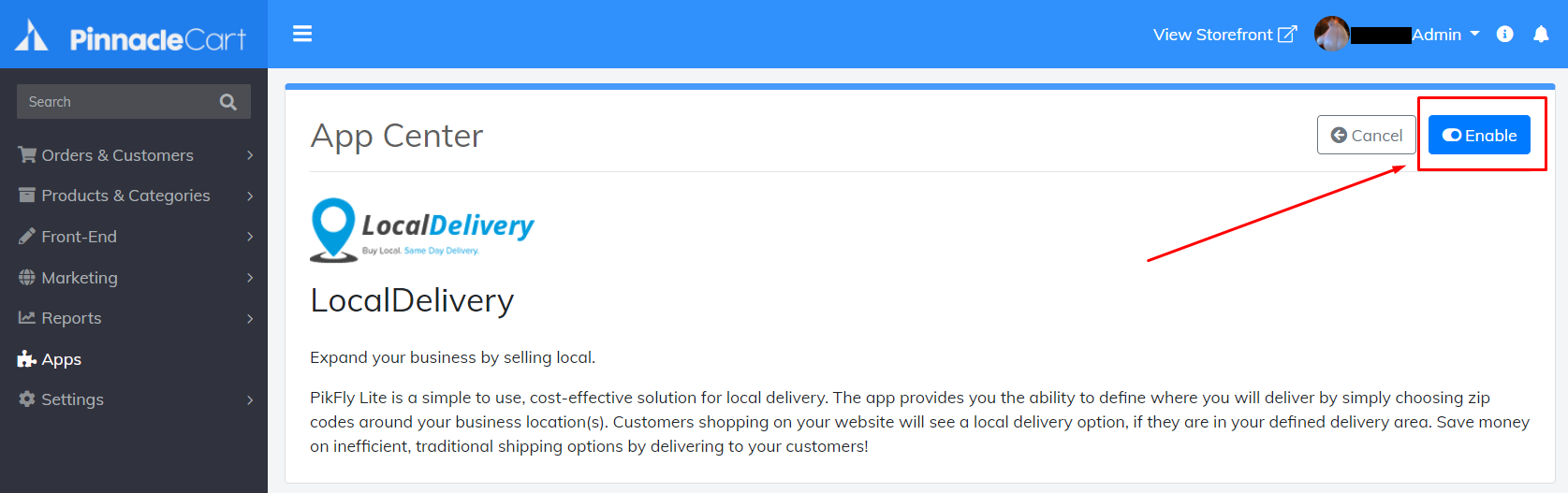 enable-local-delivery