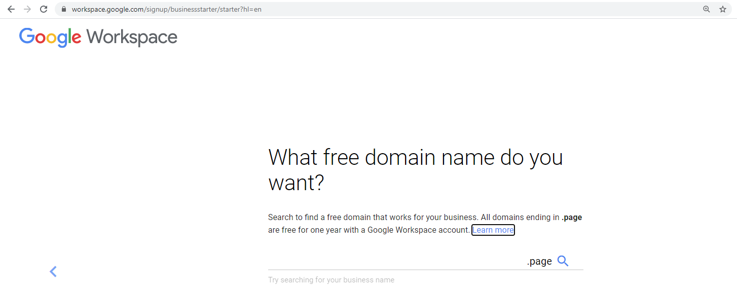 workspace-free-domain