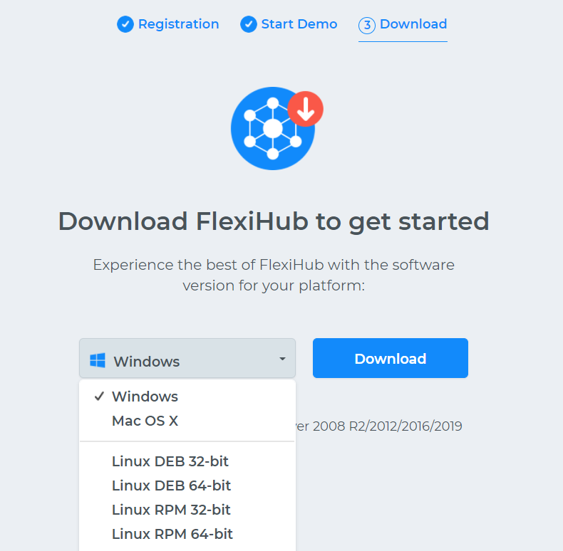 Download a FlexiHub