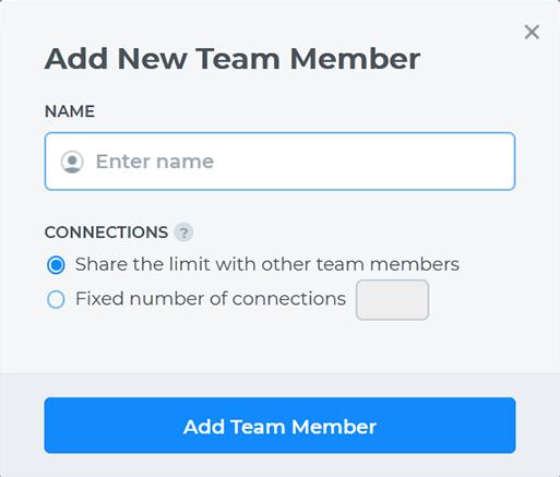 Add Team Member