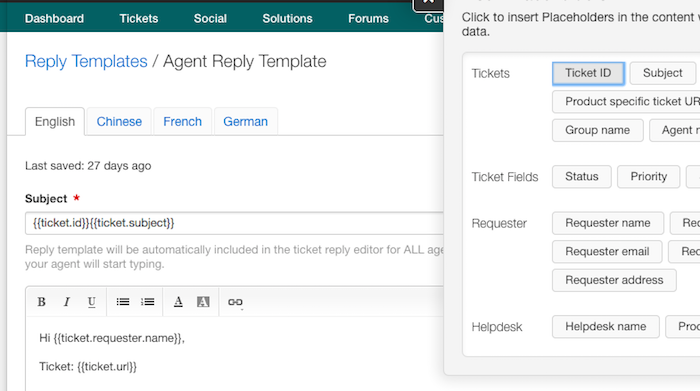 Hiding Ticket Id From The Subject Line Of Support Emails Freshdesk