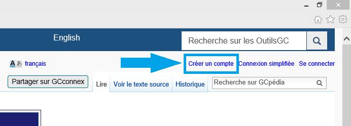bouton créer un compte