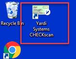 Depositing checks via CheckScan Software  : NMS Properties, Inc