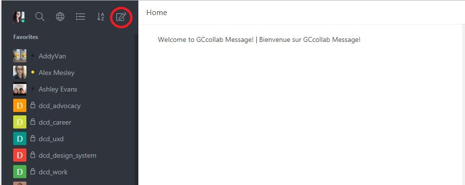 How do I create a public channel in GCmessage? : GCcollab - Support