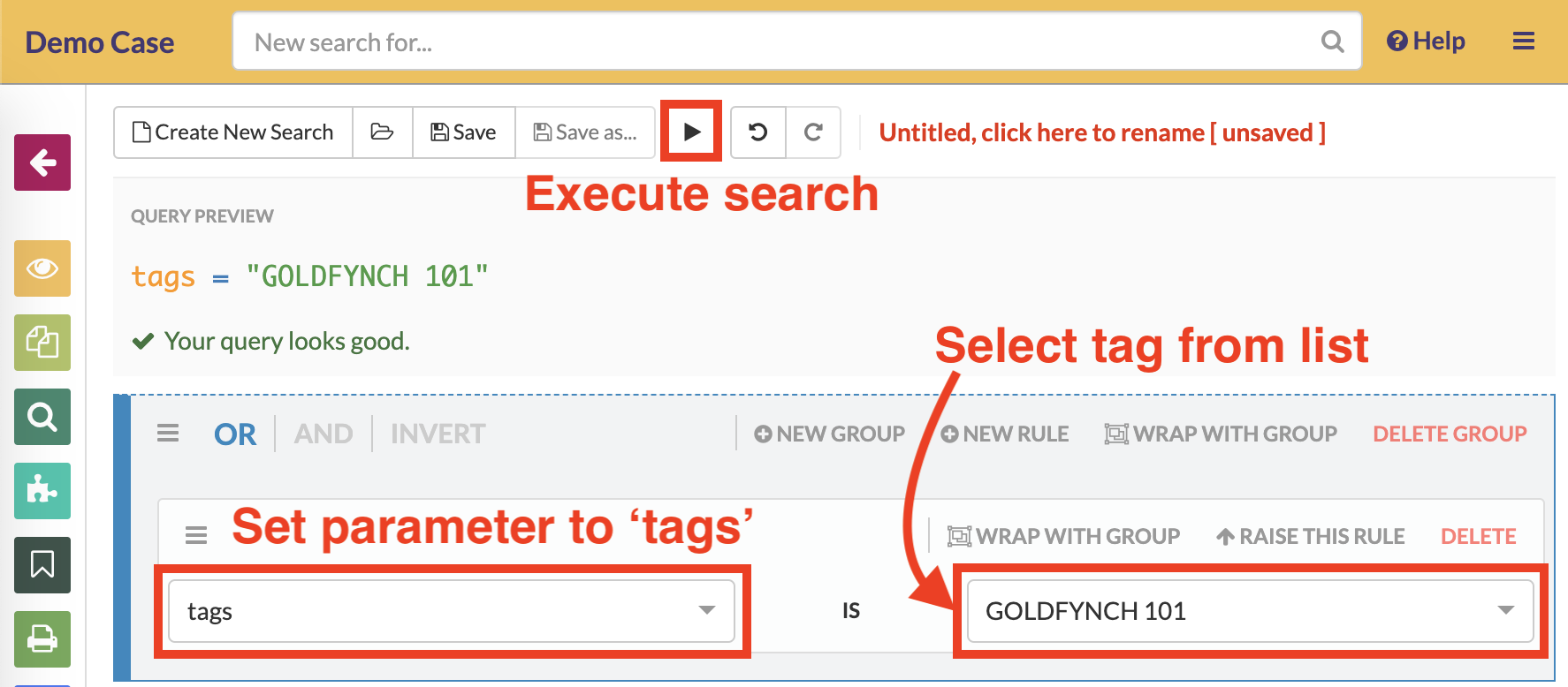 Select a tag to search for